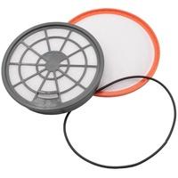 AccuCell Staubsaugerfilter Set für Staubsauger wie Dirt Devil 2620001, 2620002 , Abluft-Filter, Motorschutz-Filter
