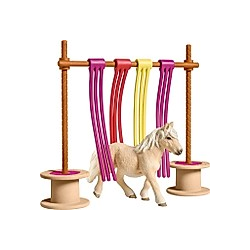 Schleich Pony Flattervorhang  Kunststoff-Figur