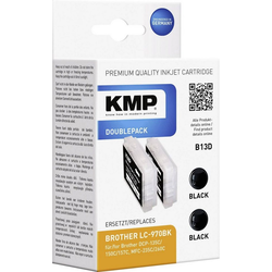 KMP KMP Tintenpatronen 2er-Pack B13D Schwarz 1060,0021 Tintenpatrone