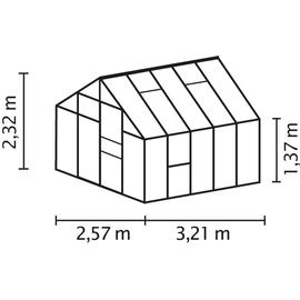 Vitavia Meridian 1 8300 Alu smaragd HKP 6 mm 8,3 m²