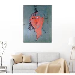 Posterlounge Wandbild, Die Rothaarige 50 cm x 70 cm