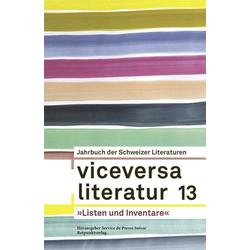 Viceversa 13 als Buch von Yvonne Böhler