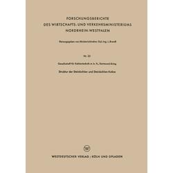Struktur der Steinkohlen und Steinkohlen-Kokse als Buch von