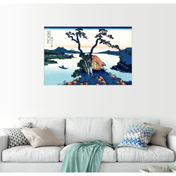 Posterlounge Wandbild, See Suwa in Shinano Provinz 90 cm x 60 cm