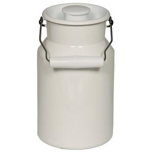 Riess Milchkanne Milchkanne mit Deckel Milchkanne mit Deckel, 1.5 l, Milchkanne weiß 1.5 l - 19.2 cm
