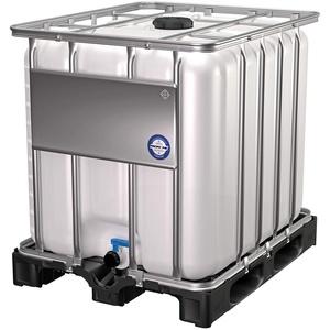 1000L IBC-Container, Wassertank, Regentonne - Kunststoffpalette