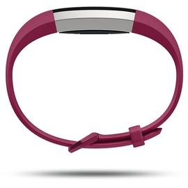 Fitbit Alta HR fuchsia / edelstahl S