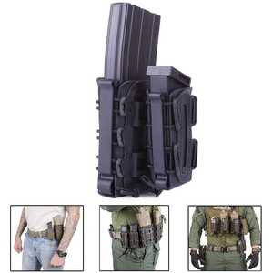 Leic Mags Pouch Molle Fastmag Ar15 M4 WST TPR Flexible Magazine Fastmag for 5.56/7.62 / Nerf/Airsoft