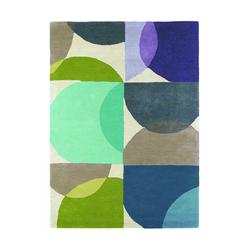 Teppich Kaleido - Blau