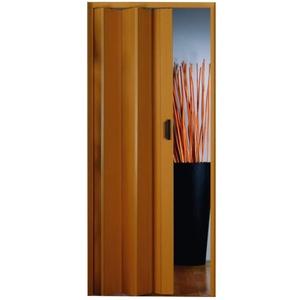 Kunststoff - Falttür Eiche pastell/frasino 83x204 cm doppelwandig