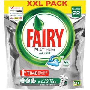 Fairy Platinum Spülmaschinentabs All-in-One Original, 65 Tabletten