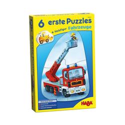 Haba Puzzle 6 erste Puzzles - Fahrzeuge, Puzzleteile