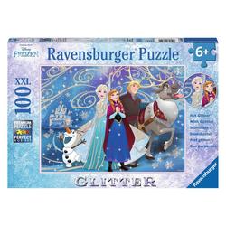 Ravensburger Puzzle Disney Frozen: Glitzernder Schnee, 100 Puzzleteile