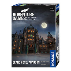 KOSMOS Adventure Games - Grand Hotel Abaddon Brettspiel