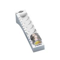 Wedo Münzrille für 2,00 Euro 65 Münzen lichtgrau