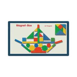 Magnetspiele Spiel, Magnetbox Tangram