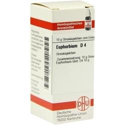 EUPHORBIUM D 4 Globuli 10 g