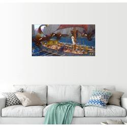 Posterlounge Wandbild, Odysseus und Sirenen 80 cm x 40 cm