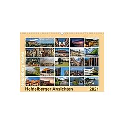 Heidelberg Views - Heidelberger Ansichten (Wandkalender 2021 DIN A3 quer)