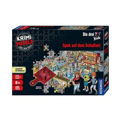 Kosmos Puzzle Krimipuzzle Die drei ??? Kids - 200 Teile - Spuk, Puzzleteile