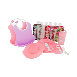Twistshake Isolierflasche Twistshake Starter Set Geschirr - Boy rosa