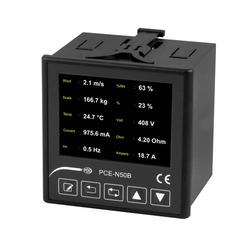 Einbauanzeige PCE-N50B | für 10 Slave Geräte | IP65