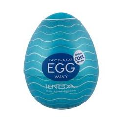 """Masturbator """"Egg Cool"""" mit Reizstruktur"""