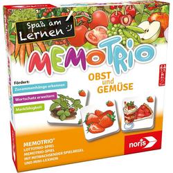 Noris Spiel, MemoTrio Obst und Gemüse