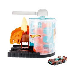 Mattel® Spielzeug-Auto Hot Wheels Eismaschinen Rampe Spielset inkl. 1