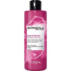 BOTANICALS Haarshampoo Rose und Geranie, Farbglanz