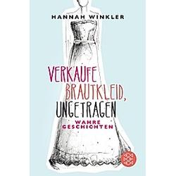 Verkaufe Brautkleid  ungetragen. Hannah Winkler  - Buch