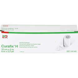 CURAFIX H Fixierpflaster 15 cmx2 m 1 St.