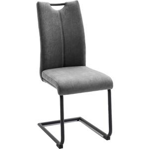 MCA furniture Schwingstuhl Adana in grau