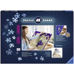 Ravensburger Puzzleunterlage Puzzle Board, mit rutschfester Samtoberfläche blau Kinder Puzzle-Zubehör Gesellschaftsspiele