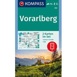 Vorarlberg 1 : 50 000