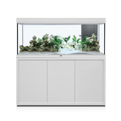 Aquatlantis FUSION LED 2.0 Aquarium Kombination, Fusion 150 weiß