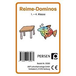 Reime-Domino (Kartenspiel). Bernd Wehren  - Buch