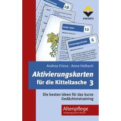 Aktivierungskarten für die Kitteltasche. Tl.3