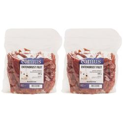 Canius Hundesnack Entenbrustfilet, 2 Beutel á 500 g