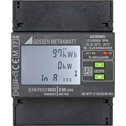 Gossen Metrawatt EM2289 ModbusRTU Drehstromzähler digital MID-konform: Ja 1St.