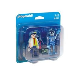 Playmobil® Spiel, PLAYMOBIL® Duo Pack Professor und Roboter