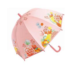 DJECO Langregenschirm Kinderschirm Blumengarten