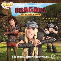 Edel Hörspiel CD Dragons neue Ufer 28 - Die Werwolf-Flügler