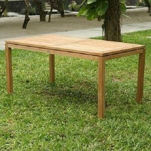 Gartentisch Destiny Tisch Sydney Teaktisch 165/210x90 Ausziehtisch