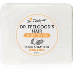 Dr. Feelgood Sweet Orange Organisches Shampoo als Waschstück 100 g