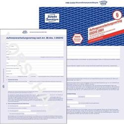 Auftragsverarbeitungsvertrag A4 4-seitig