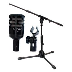 Audix D6 Dynamisches Mikrofon + Stativ Set