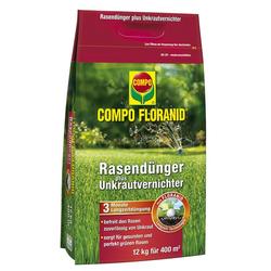 Rasendünger mit Unkrautvernichter, 12 kg für 400 m²