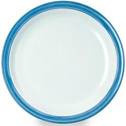 WACA Teller Bistro, (4 Stück), Melamin, 23,5 cm blau