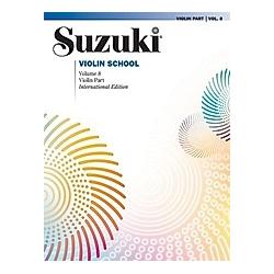 Suzuki Violin School  Volume 8. Shinichi Suzuki  - Buch